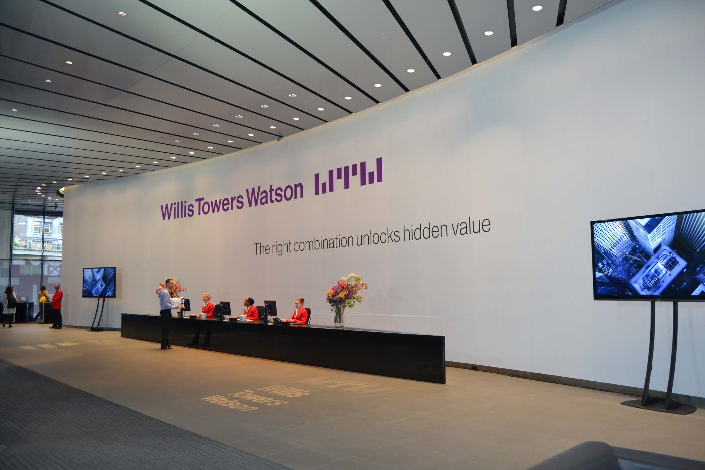 Willis Building London Reception